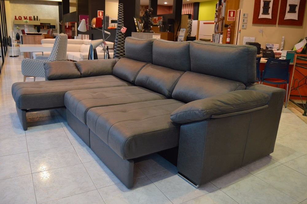 Sof con chaiselongue modelo estilo - Sofa con estilo ...
