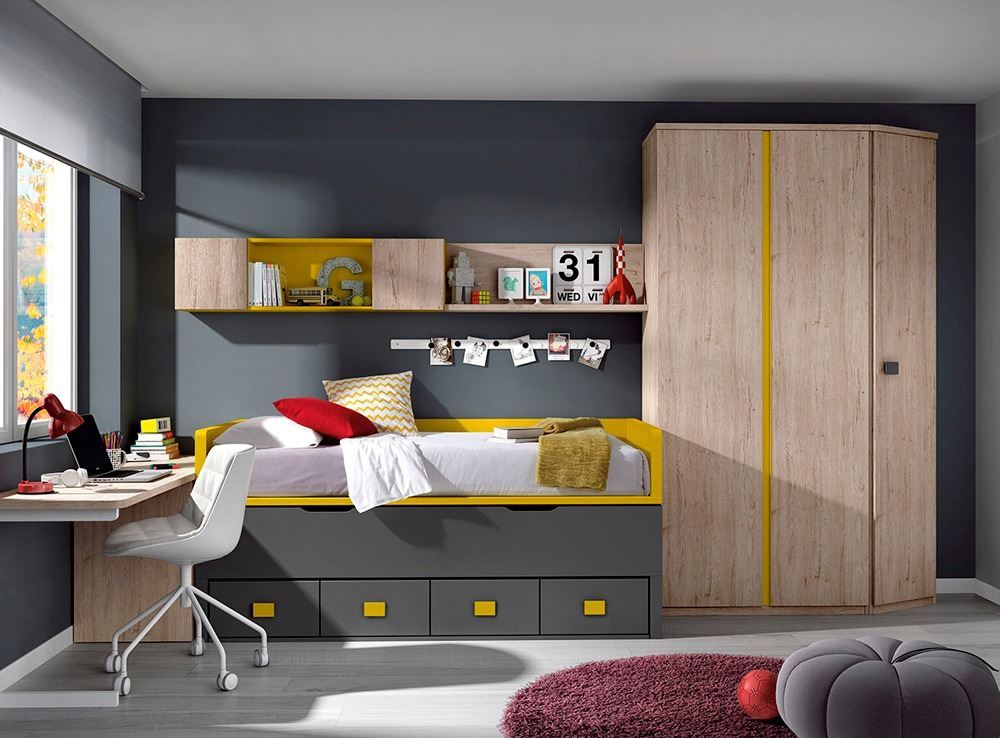Decorar dormitorios juveniles for Muebles nicolau