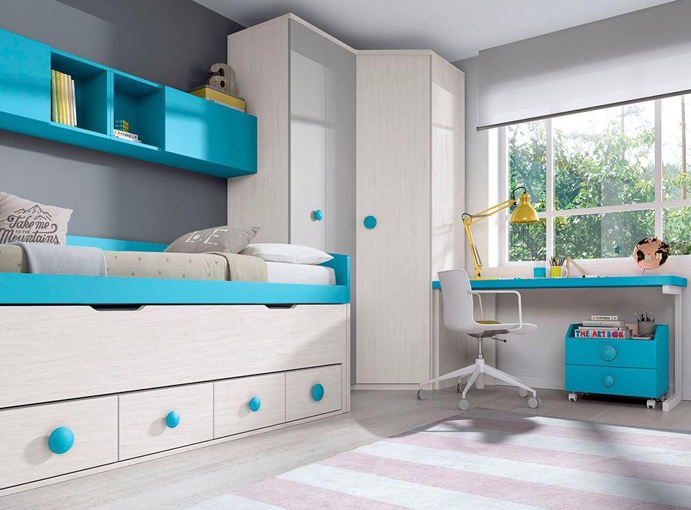 Amueblar dormitorios juveniles for Muebles nicolau