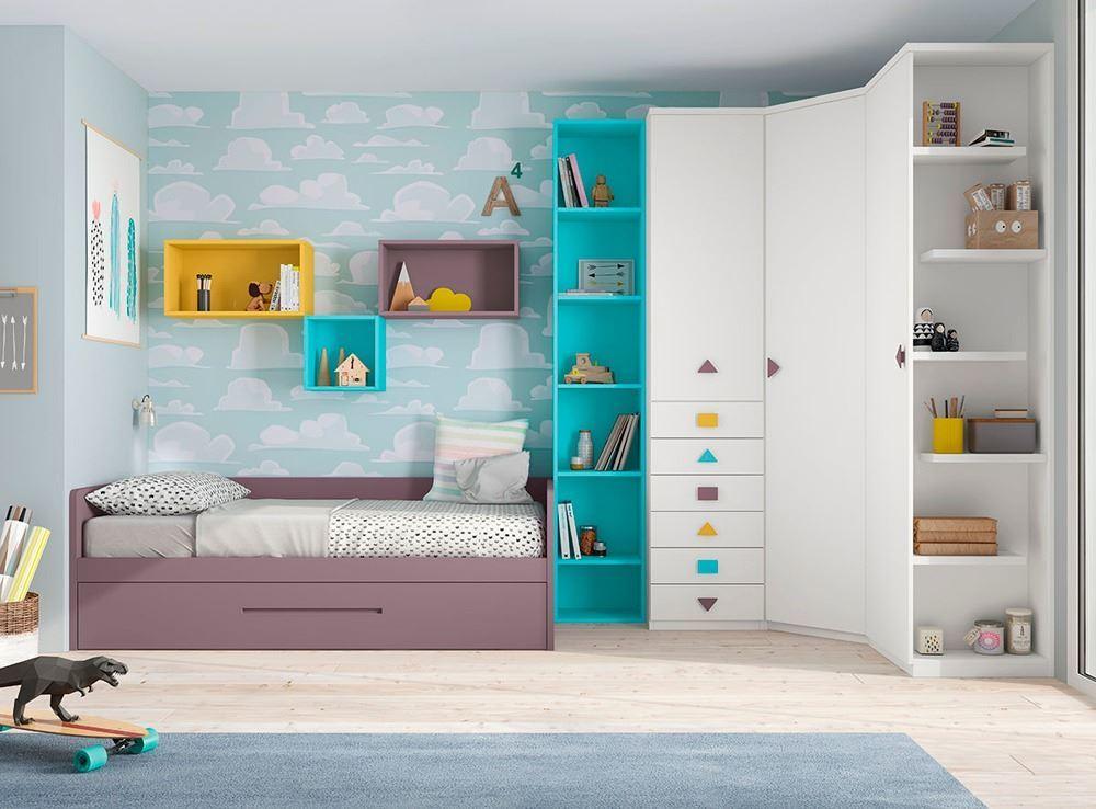 Dormitorios con cama nido - Muebles nicolau ...