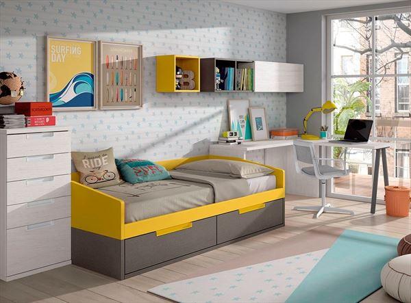 Muebles para dormitorios juveniles - Muebles nicolau ...