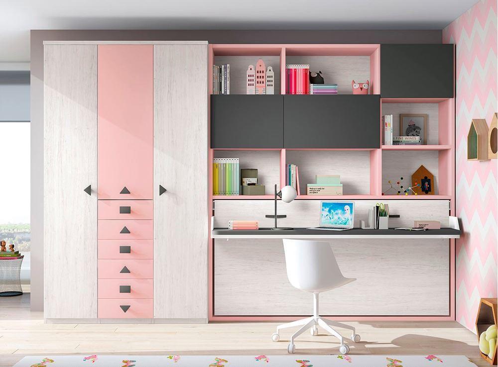 Como aprovechar espacios en habitaciones juveniles - Muebles nicolau ...