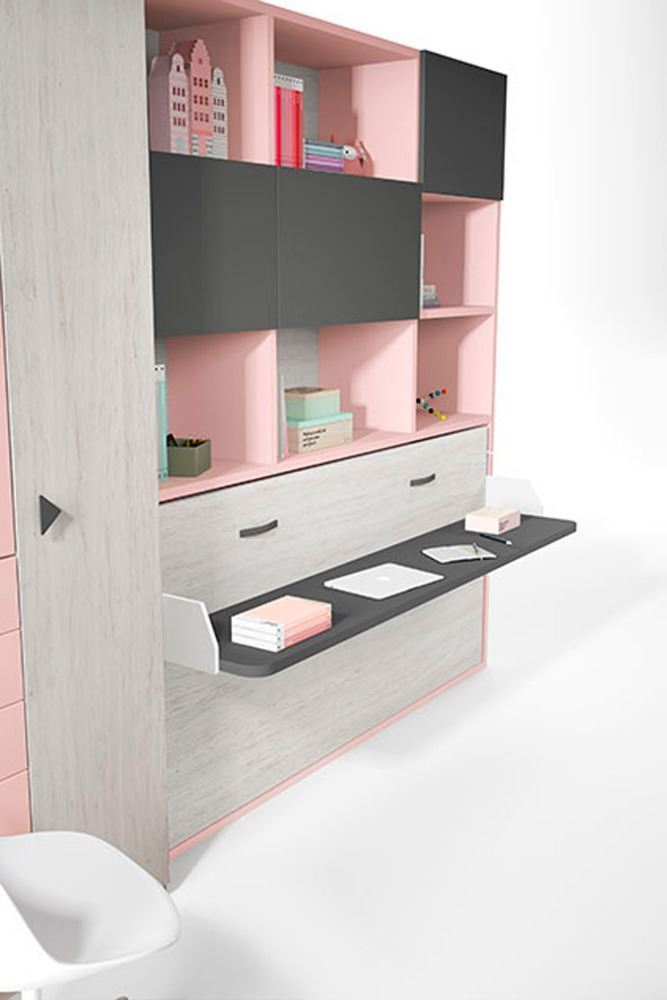 Como aprovechar espacios en habitaciones juveniles for Muebles nicolau