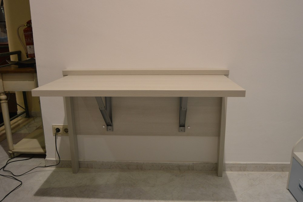 28 mesa de pared abatible montado una mesa plegable - Mesa abatible de pared carrefour ...